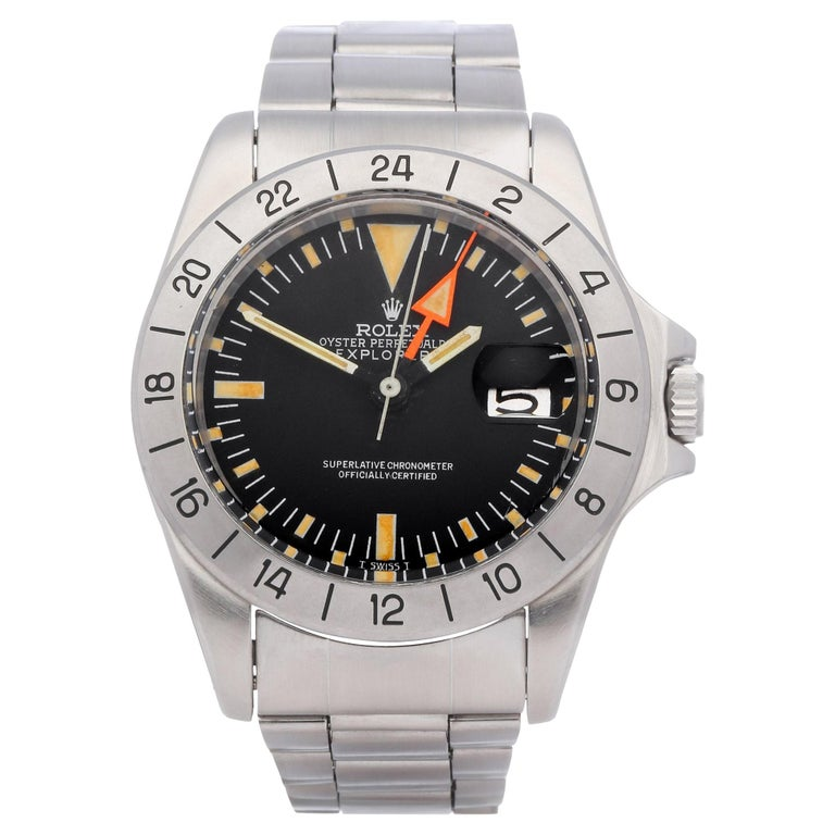 Rolex Explorer II 0 3097674 Stainless Steel Deployant Not Recommended for Use in For Sale