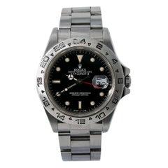 Rolex Explorer II 16550, Black Dial, Certified and Warranty