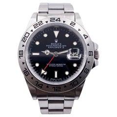 Rolex Explorer II 16550 Black Dial Stainless Steel