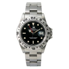 Rolex Explorer II 16550, Grey Dial, Certified and Warranty