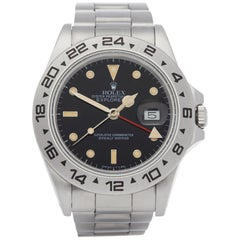 Rolex Explorer II 16550 Men Stainless Steel Watch