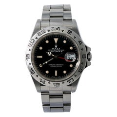 Rolex Explorer II 16550, Silver Dial, Certified and Warranty