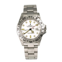 Rolex Explorer II 16550, White Dial, Certified and Warranty