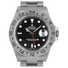 Rolex Explorer II 16570, 2832, Case, Certified and Warranty