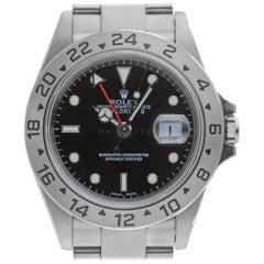 Rolex Explorer II 16570, Black Dial, Certified and Warranty