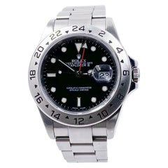 Rolex Explorer II 16570 Black Dial Stainless Steel Unpolished, 2004