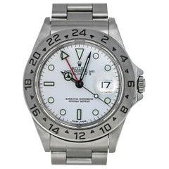 Rolex Explorer II 16570, Case, Certified and Warranty