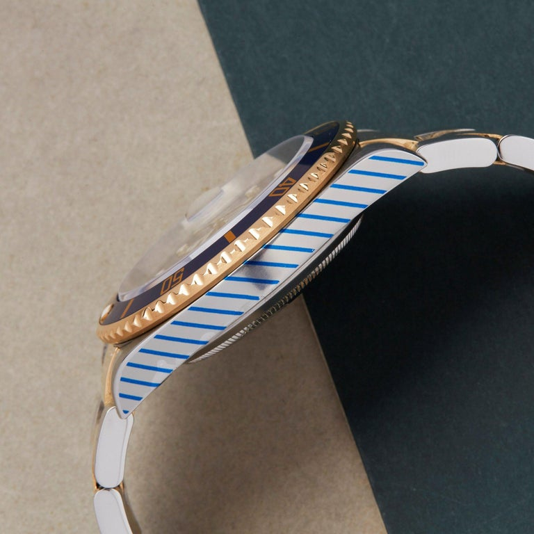 Rolex Submariner 16613 Men's Stainless Steel Watch For Sale 3
