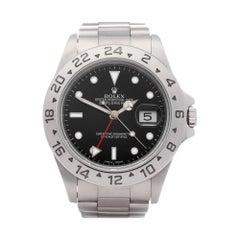 Rolex Explorer II 16570 Men Stainless Steel Watch