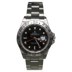 Rolex Explorer II 16570 Rehaut Black Dial Stainless Steel Box Paper 2007