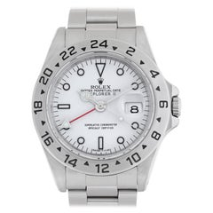 Rolex Explorer II 16570 Stainless Steel Auto Watch