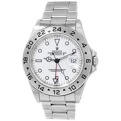Rolex Explorer II 16570, White Dial, Certified and Warranty