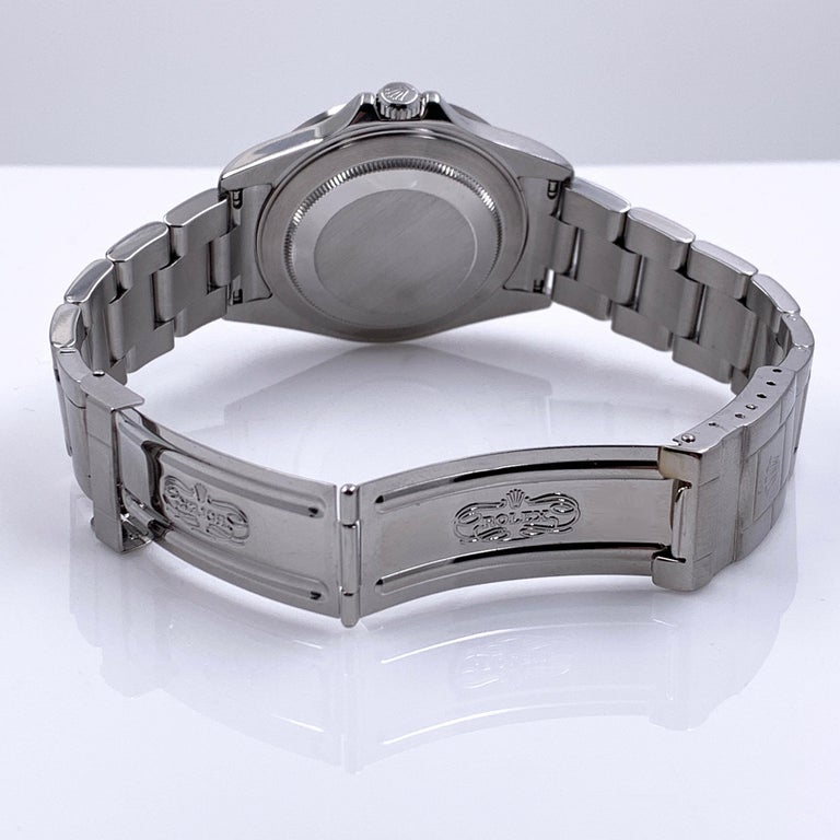 Rolex Explorer II 16570 White Dial Stainless Box Service Paper 2020 Very Rare For Sale 2