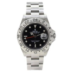 Rolex Explorer II 16570 with Band and Black Dial