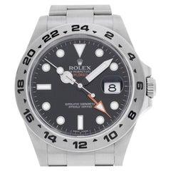 Rolex Explorer II 216570, Black Dial, Certified and Warranty