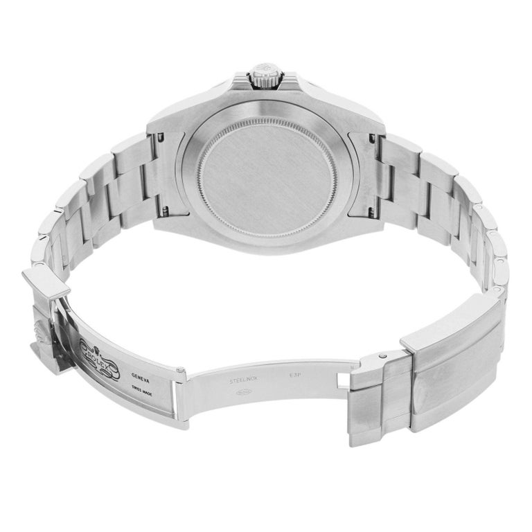 Rolex Explorer II 216570 Black Dial GMT 2010 Steel Automatic Men's Watch For Sale 1
