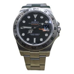 Rolex Explorer II 216570 Black Dial Stainless Steel Box and Papers, 2017