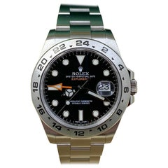 Rolex Explorer II 216570 Black Dial Stainless Steel Box Papers, 2017
