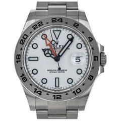 Rolex Explorer II 216570, Case, Certified and Warranty