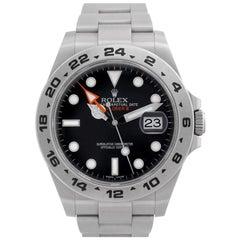 Rolex Explorer II 216570, Certified and Warranty