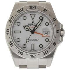 Rolex Explorer II 216570; Certified and Warranty