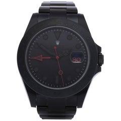 Rolex Explorer II 216570 Men's DLC Coated Stainless Steel Watch