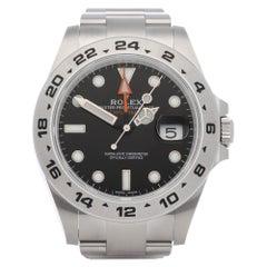 Rolex Explorer II 216570 Men Stainless Steel Watch
