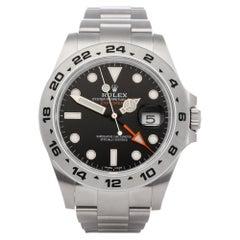Rolex Explorer II 216570 Men's Stainless Steel Watch