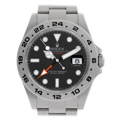 Rolex Explorer II 216570 Stainless Steel Black Dial Automatic Watch