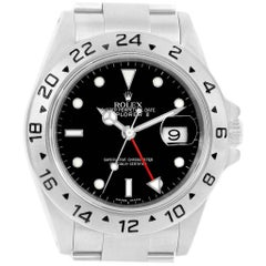 Rolex Explorer II 40 Black Dial Red Hand Automatic Men's Watch 16570
