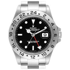 Rolex Explorer II Black Dial Automatic Steel Men's Watch 16570 Box Papers