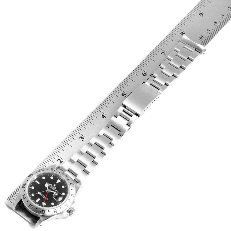 Rolex Explorer II Black Dial Automatic Steel Men's Watch 16570 For Sale 7