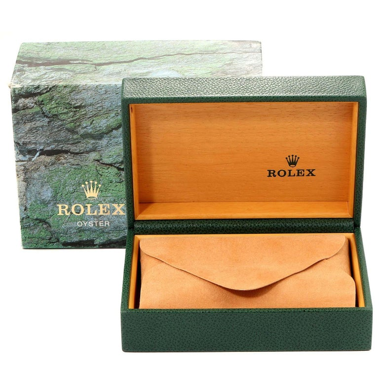 Rolex Explorer II Black Dial Automatic Steel Men's Watch 16570 For Sale 8