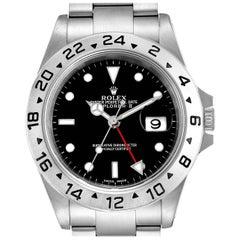 Rolex Explorer II Black Dial Automatic Steel Men's Watch 16570