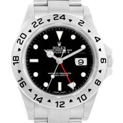 Rolex Explorer II Black Dial Parachrom Hairspring Men's Watch 16570