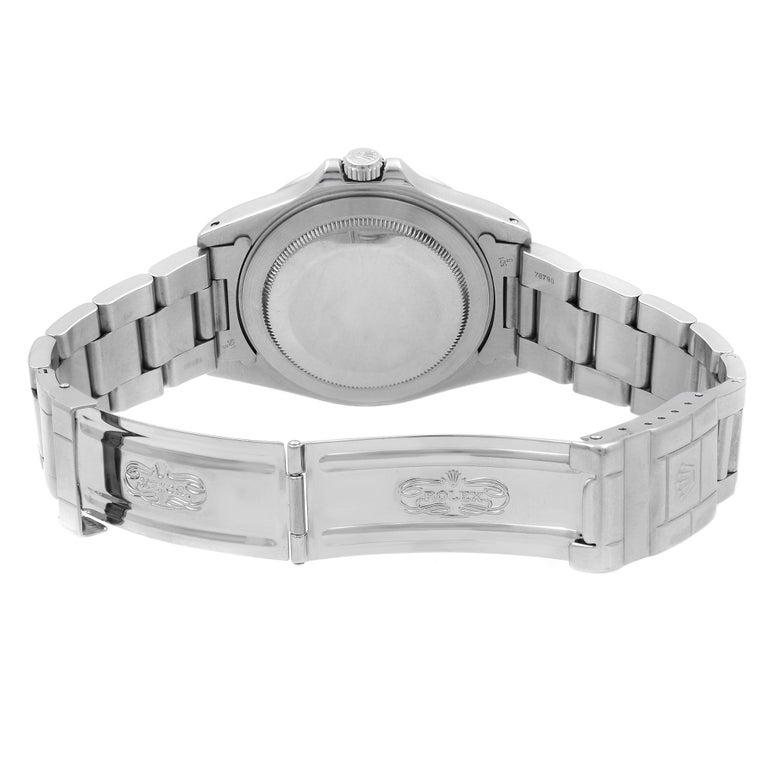 Rolex Explorer II Black Dial Steel Automatic 1998 Men's Watch 16570 For Sale 2