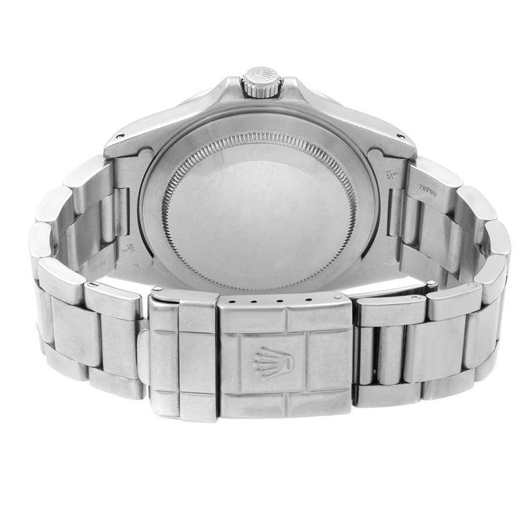 Rolex Explorer II Black Dial Steel Automatic 1998 Men's Watch 16570 For Sale 3