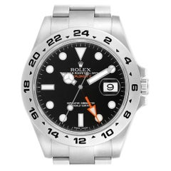 Rolex Explorer II Black Dial Steel Men's Watch 216570 Box Card