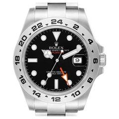 Rolex Explorer II Black Dial Steel Men's Watch 216570 Box Card