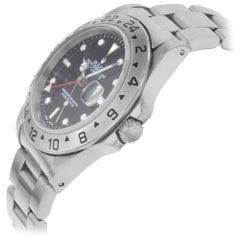Rolex Explorer II GMT Steel Black Dial 1999 Automatic Men's Watch 16570
