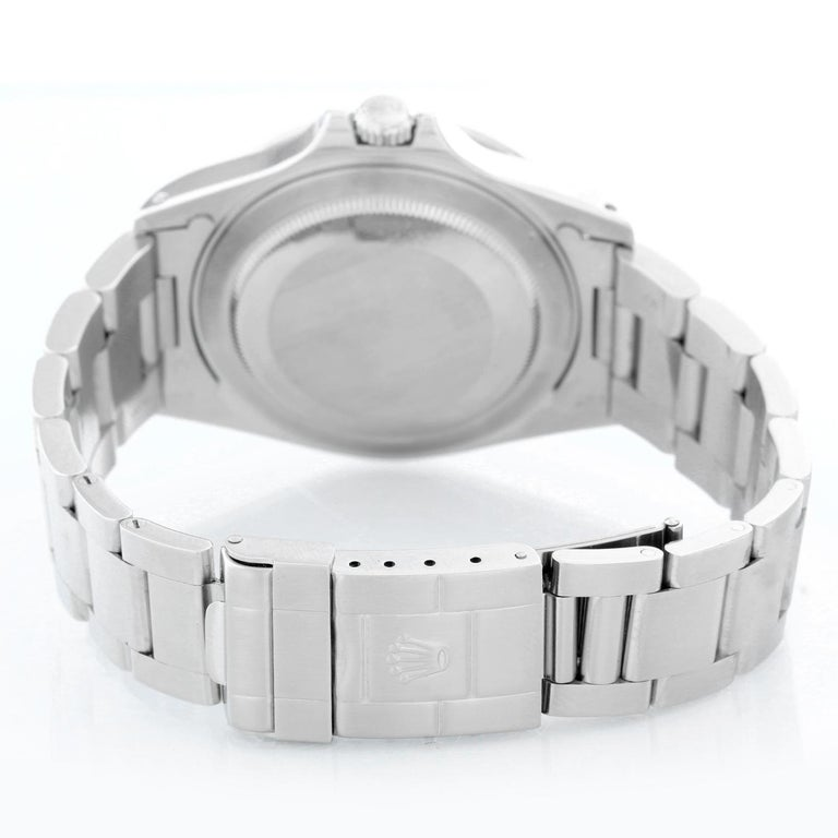 Rolex Explorer II Men's Stainless Steel Watch 16570 In Excellent Condition For Sale In Dallas, TX