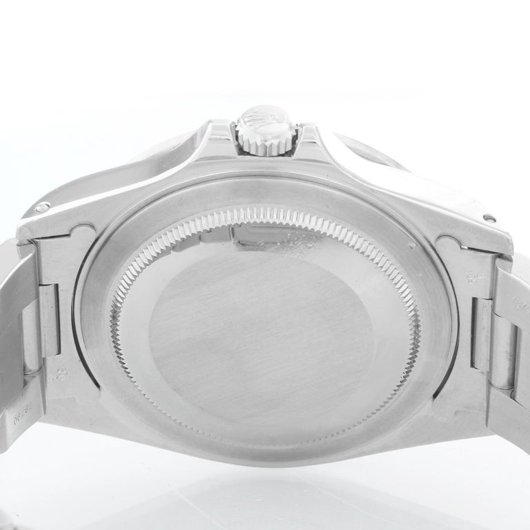 Rolex Explorer II Men's Stainless Steel Watch 16570 For Sale 1