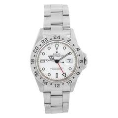 Rolex Explorer II Men's Stainless Steel Watch 16570