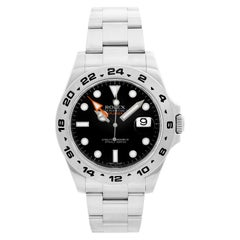 Rolex Explorer II Men's Stainless Steel Watch 216570 Black Dial with Date