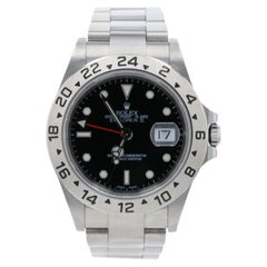 Rolex Explorer II Men's Wristwatch 16570 T Stainless Automatic 1 Year Warranty