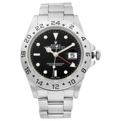 Rolex Explorer II Stainless Steel Black Dial Automatic Men's Watch 16570