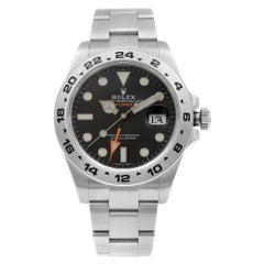 Rolex Explorer II Stainless Steel Black Dial Automatic Men's Watch 216570