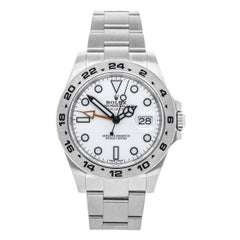 Rolex Explorer II Stainless Steel White Dial Automatic New 216570