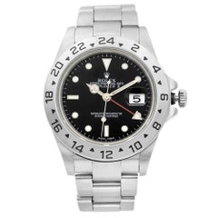 Rolex Explorer II Steel Black Dial GMT Automatic Men's Watch 16570