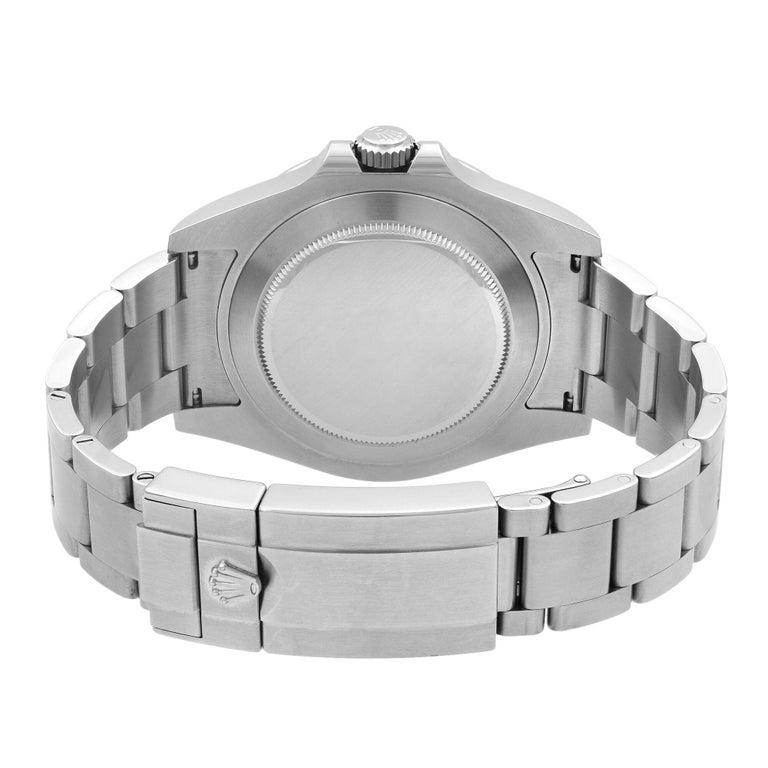 Rolex Explorer II Steel Orange Hand Black Dial Automatic Men's Watch 216570 For Sale 2